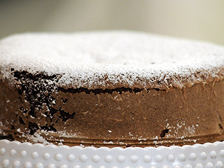 Bizcochuelo de chocolate para celíacos