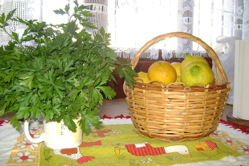 limones y perejil