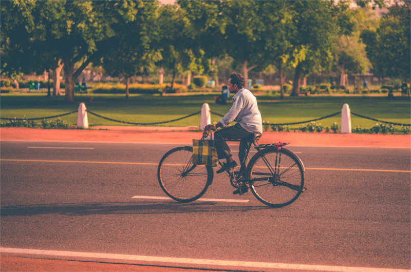 Ir al trabajo en bici, beneficios